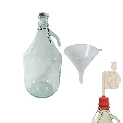 Viva-artículos de uso doméstico - vino globo/vidrio globo/botella de 5