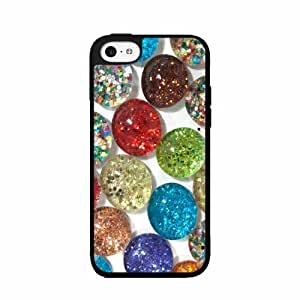 Glitter Rocks- Plastic Phone Case Back Cover iPhone 5 5s