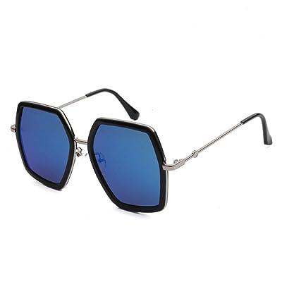 HONG@Big Box lunettes lunettes de polygones irréguliers, B