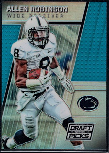 Football NFL 2016 Panini Prizm Collegiate Draft Picks Blue Prizms #6 Allen Robinson