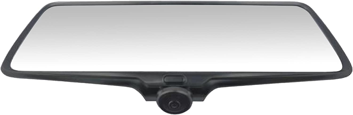 Rear-View Mirror with 5 HD Monitor Straps onto Original Mirror 360-degree Camera and Buit-in 2CH DVR Recording BOYO VTR50M