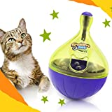 NNDA CO Funny Pet Dog Cat Puppy Tumbler Leakage Food Dispenser Chew Interactive Play Toy,9x6cm/3.54x2.36inch, 1Pc(S)