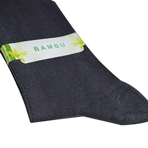 4 pairs Antibacterial 80% Organic Bamboo Fiber Seamless Toe Socks Breathable ,Cycling , No Sweat Socks Mens (BLACK)