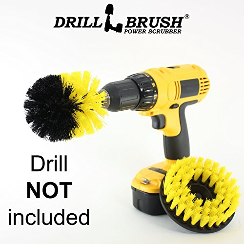 Shower, Tub, and Tile Power Scrubber Brush by Drillbrush