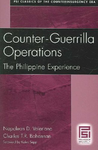 Download By Napolean D. Valeriano - Counter-Guerrilla Operations: The Philippine Experience (Psi Clas (2006-09-14) [Paperback] PDF