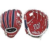 "Wilson A200 10"" Washington Nationals Glove Right"