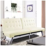 Splitback Futon Sofa Bed Sleeper Couch Living Room Lounger New