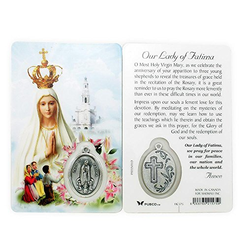 Fatima Centennial Prayer Card