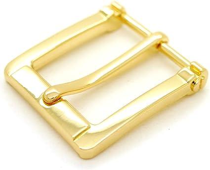 10-50 pieces 17 mm Deep gold inner width brass solid material snap hook Diy Leather craft bag wallet belt spring buckle