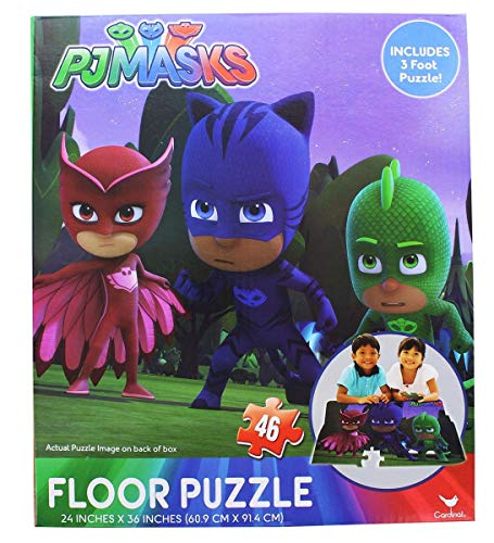 PJ Mask Floor Puzzle 46pc [Contains 1 Manufacturer Retail Unit(s) Per Amazon Combined Package Sales Unit] - SKU# 26437 for $<!--$9.99-->