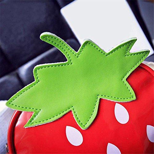 Bolso LOVE de Strawberry 2 Piel FANCY mujer cruzados Otra para 57wn4