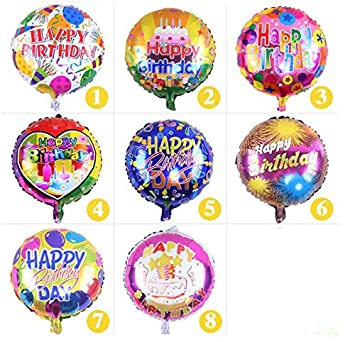 Amazon.com: Globo arcoíris – los globos redondos de 18 ...