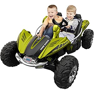 Fisher-Price-Power-Wheels-Dune-Racer-Green-Vehicle