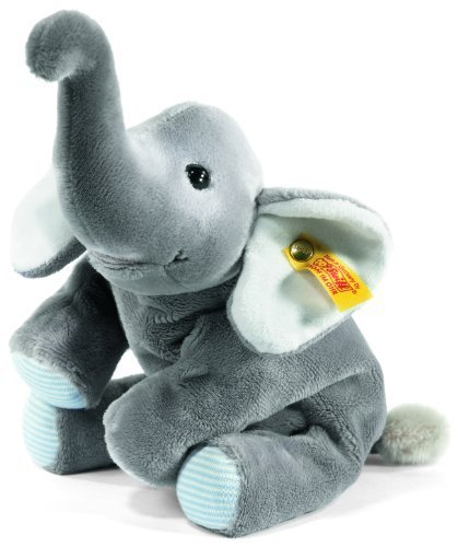 Steiff Little Floppy Trampili Elephant, Grey by ()