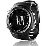 EZON Outdoor Sports Watch Pedometer Calorie Counter Running Big Number Digital Wristwatch Men Women T023