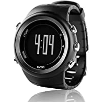 EZON Outdoor Sports Watch with Pedometer Calorie Counter Running Big Number Digital Wristwatch for Men and Women T023