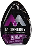 MIO Energy Liquid Enhancer Acai Berry Storm 1.62 Ounce (Pack of 4)