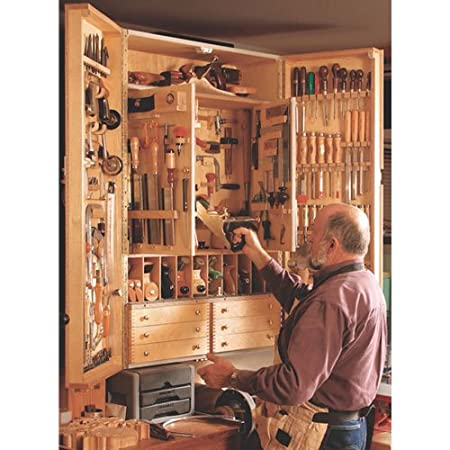 Fine Woodworking Tool Cabinet Plan Amazon Co Uk Diy Tools