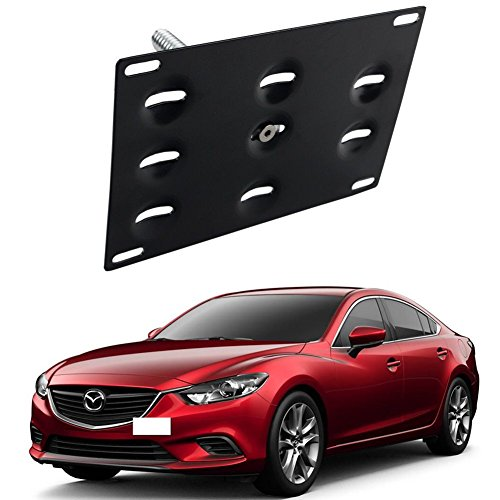 tow hook license plate mount - 5