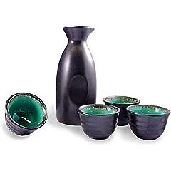 Botellas y juegos de sake