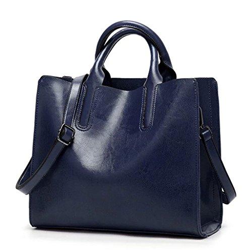 capacidad B en para de colores de múltiples de color Bolsa sólido gran trabajo de Color el mensajero hombro bolsa Bolso mujer D de de q6gHU