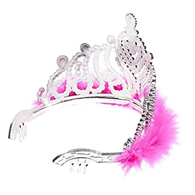 Blue Panda 12 Pack Princess Crowns and Tiaras for Little Girls, Kids Costume, Dress Up Accessories, Birthday Party Favors: Home & Kitchen