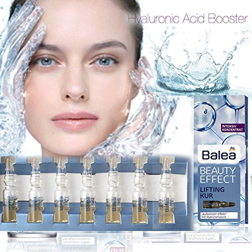 - Balea Beauty Effect Lifting Treatment Ampoules With Hyaluronic Acid 7 x 1 ml MADE IN GERMANY