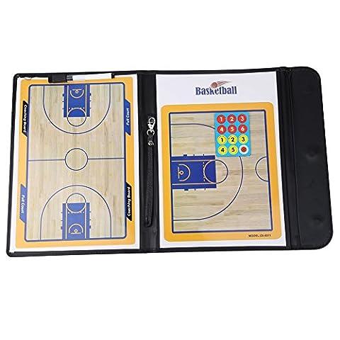 New Basketball Coaching Board Coaches Clipboard Dry Erase w/marker basketball Strategy Board Tactics Luxury Version - Nba Jazz Lamp