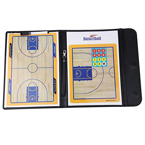 New Basketball Coaching Board Coaches Clipboard Dry Erase w/marker basketball Strategy Board Tactics Luxury Version - Coaching Allen