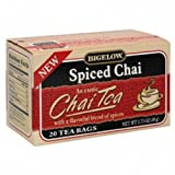 Bigelow Spiced Chai Tea (6x20 Bag )