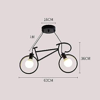 Moderna lámpara de araña para bicicleta de estilo nórdico ...