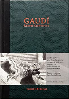Book Gaudi Album Cientifico: Scientific Album, Album Scientifique