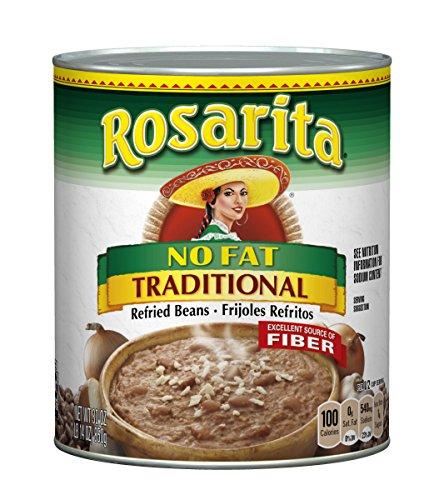 (Rosarita No Fat Traditional Refried Beans, 30 oz)