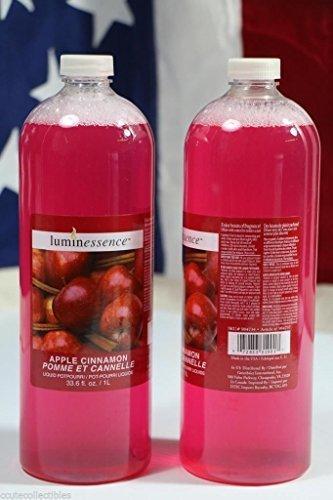 Luminessence Apple Cinnamon Liquid Potpourri 33.6oz (2 Pack) by Luminessence by Luminessence