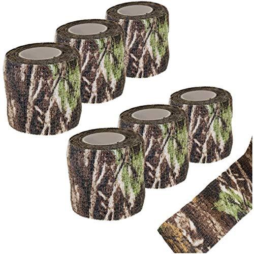 Tissu Camouflage Tape Wrap Camouflage Adhésif pour Pistolets Décor de Bande de Protection Tactique Bande de Camouflage… 1