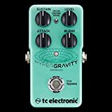 TC Electronic HyperGravity Compressor Pedal w/ 2 Patch Cables