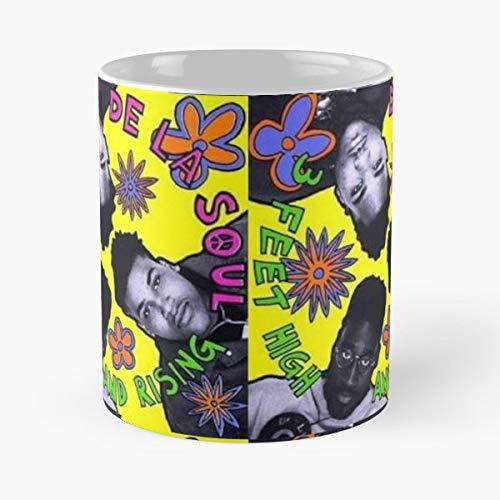 De La Soul 3 Feet High And Rising Hip Hop Morning Coffee Mug Ceramic Novelty Holiday