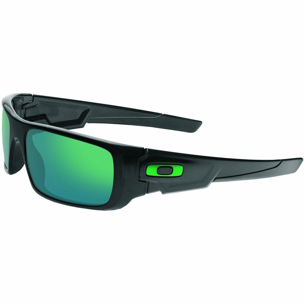 Oakley Men's OO9239 Crankshaft Rectangular Sunglasses, Black Ink/Jade Iridium, 60 mm by Oakley