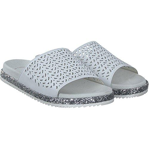 Gabor 63.740.21 - Sandalias de vestir de Piel para mujer blanco Weiß Weiß