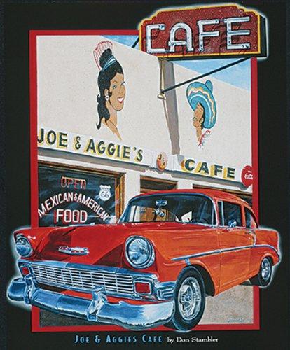 Buyartforless Joe & Aggies Cafe' by Don Stambler 7x5 Poster