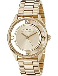 Marc by Marc Jacobs Womens MBM3413 Tether Gold-Tone Bracelet Watch