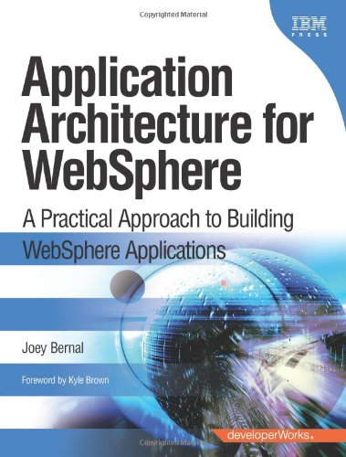 [PDF] Application Architecture for WebSphere: A Practical Approach to Building WebSphere Applications Free Download | Publisher : IBM Press | Category : Computers & Internet | ISBN 10 : 0137129262 | ISBN 13 : 9780137129263