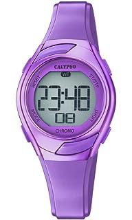 Calypso Reloj Digital para Mujer de Cuarzo con Correa en Plástico K5738/7