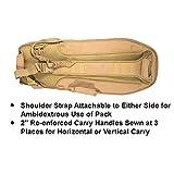 """UTG ABC Sling Pack 34"""" Multi-Firearm Case, Dark Earth"""
