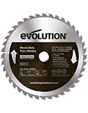 Evolution Power Tools 7-1/4-Inch Wood Cutting Blade with 20-mm Arbor