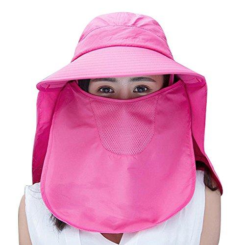 曲市場定期的な360° UV Protection Ladies Sun Hat