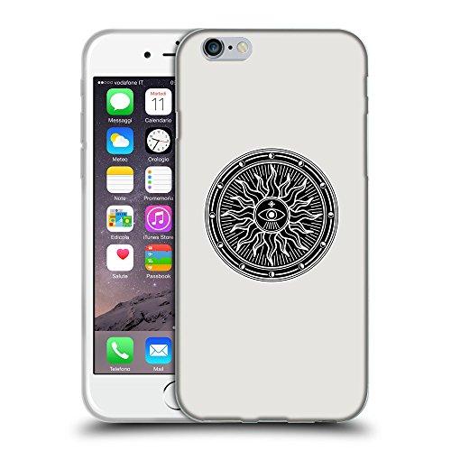 """GoGoMobile Coque de Protection TPU Silicone Case pour // Q08230631 Mystique occulte 2 Platine // Apple iPhone 6 PLUS 5.5"""""""