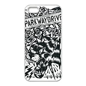 IPhone 5,5S Phone Case for Classic theme Parkway Drive pattern design GCTPKDV878841
