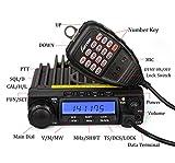 LUITON-LT-590-UHF-45W25W10W-Two-Way-Radio-Mobile-Transceiver-Amateur-Ham-Radio-with-Free-Programming-CableBlack