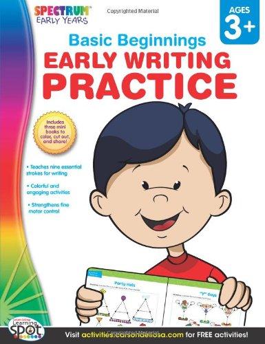 Download Early Writing Practice, Grades Preschool - K (Basic Beginnings) PDF